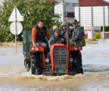 La Bosnie et la Serbie luttent contre les pires inondations depuis un siècle