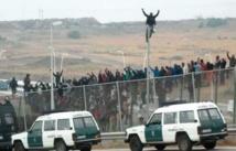 Nouvelle tentative de franchissement de la barrière de Mellilia