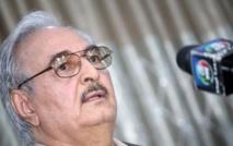 Le général Khalifa Haftar exige la suspension du Parlement libyen
