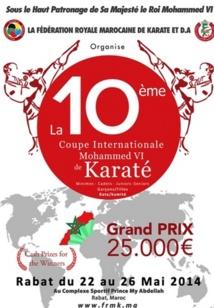 C'est parti pour la 10ème édition de la Coupe internationale Mohammed VI de karaté