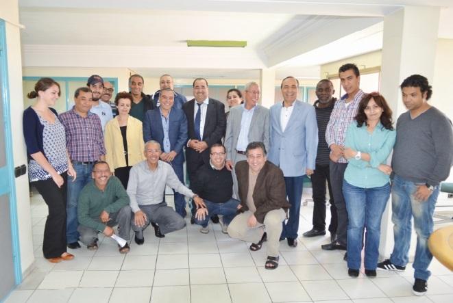 Lachguar et El Malki hôtes de Libération et Al Ittihad Al Ichtiraki