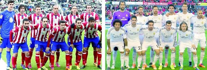 Deux Madrid face à face