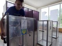L'est de l'Ukraine comme coupé de la présidentielle
