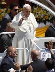 Le Pape appelle à mettre fin au conflit israélo-palestinien