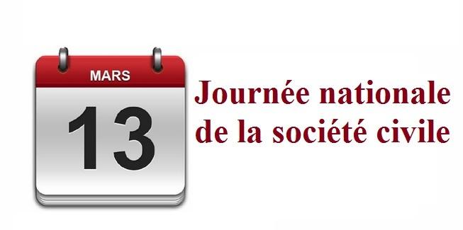 Le 13 mars, Journée nationale de la société civile
