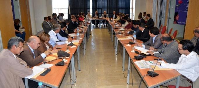 Driss Lachguar donne le coup d'envoi des  travaux de la Commission chargée d'appuyer l'action des Groupes socialistes au Parlement