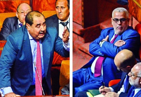 A la Chambre des représentants l'opposition accule Benkirane