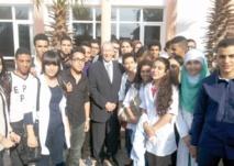 Le ministre de l'Education nationale à l'écoute des élèves