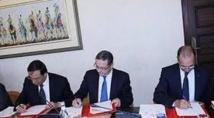 Signature d'une convention entre l'OFPPT et le groupe Fiat-Maroc