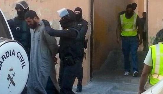 Démantèlement d'une nouvelle cellule terroriste dans le préside occupé de Mellilia