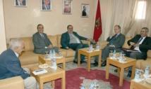 Driss Lachguar reçoit  l'ambassadeur  d'Espagne à Rabat