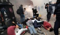 Les manifestants  violemment dispersés à la Place Taksim