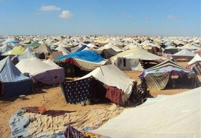Epidémie et manifestations dans les camps de Tindouf