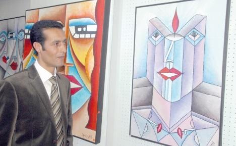 Hassan Dahane expose chez Pleinar