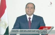 Sissi appelle les Egyptiens  à œuvrer pour la liberté