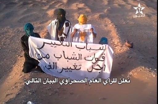Les Sahraouis prennent les armes contre le Polisario