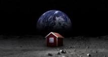 Un artiste veut envoyer une petite maison rouge sur la Lune