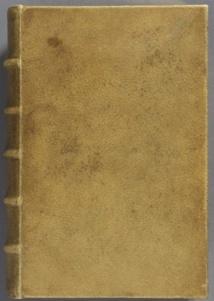 Un livre relié avec de la peau humaine