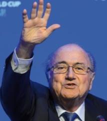 Le candidat Blatter ne se cache plus