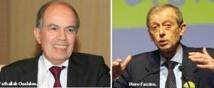 Entretiens entre Fathallah Oualalou et Piero Fassino