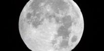 La Lune, née d'une collision entre la Terre  et une météorite géante il y a 4,5 milliards d'années