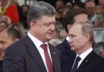 Porochenko  présente un plan de paix à Poutine