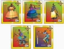 """Astres, cartes et """"orixas"""" donnent le Brésil gagnant !"""