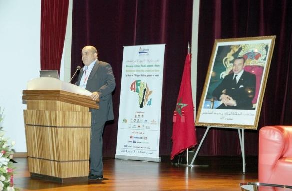 D'éminents intervenants au colloque Maroc-Afrique: histoire, présent et avenir
