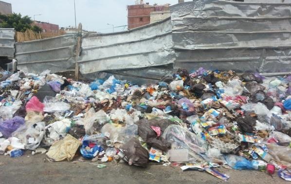 Casablanca croule sous les ordures