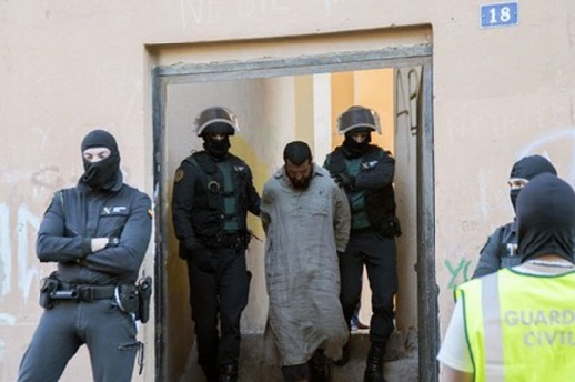 Démantèlement à Madrid d'un réseau jihadiste  chapeauté par un Marocain