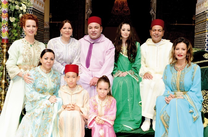S.M le Roi préside la conclusion de l'acte de mariage de  S.A.R le Prince Moulay Rachid