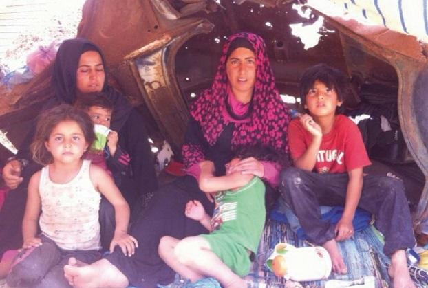 Deux familles syriennes endurent le martyre à Zouj-Bghal