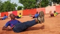 Au Mali, le foot les yeux fermés