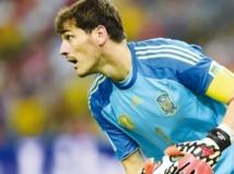 Respect  pour Casillas