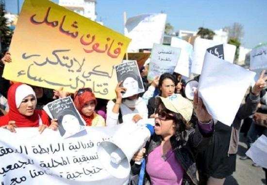 Un sit-in pour protester contre les propos de Benkirane sur la place des Marocaines dans la société