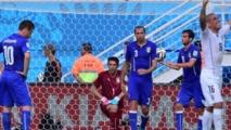 L'Europe perd ses champions au Brésil