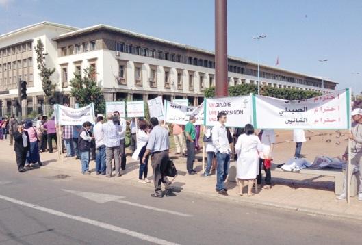 Les pharmaciens casablancais partent dans une série de sit-in