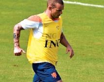 Sneijder, stratège devenu marathonien