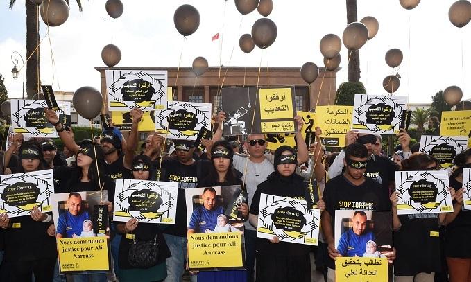 Les activistes des droits humains contre la torture