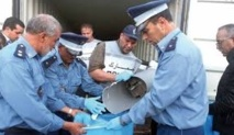 Incinération de plus de 16 tonnes de chira à Casablanca