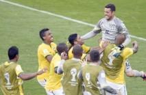 Le Brésil tire la Colombie à la loterie