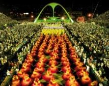 Carnaval de Rio, une fête haute en couleur qui  cristallise l'esprit de célébration chez le Brésilien