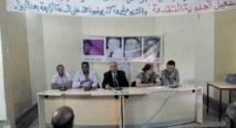 Election du nouveau bureau de la Chabiba  de la région de Chaouia-Ouardigha