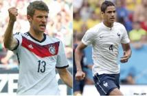 France-Allemagne: les duels du quart de finale