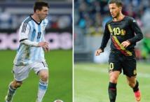 Messi et Hazard, au quart de tour