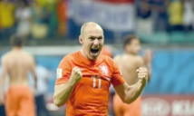 Les Oranje tous fous de Robben