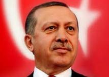 Un logo de la campagne  présidentielle de Recep Tayyip  Erdogan sujet à controverse