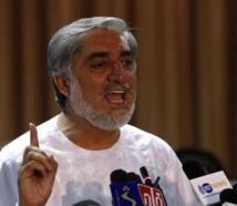 Abdullah rejette les résultats de la présidentielle afghane et se déclare vainqueur