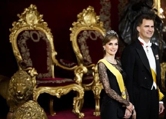 Le couple Royal d'Espagne en visite officielle au Maroc
