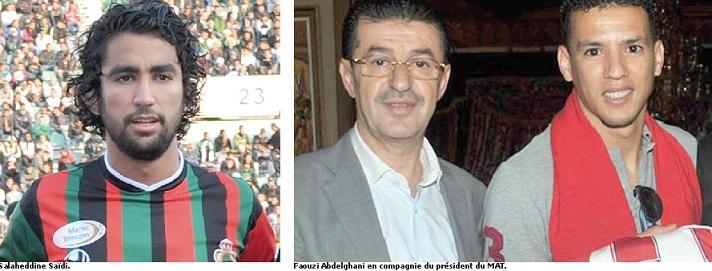 Salaheddine Saïdi au WAC et Faouzi Abdelghani au MAT